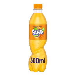 Εικόνα της Fanta Πορτοκαλάδα Με Ανθρακικό PET 500ml