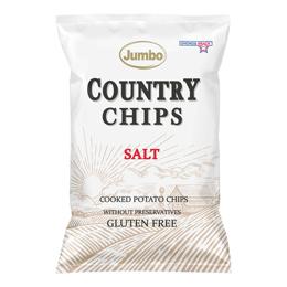 Εικόνα της Πατατάκια Jumbo Country Salt 150gr