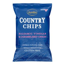 Εικόνα της Πατατάκια Jumbo Country Balsamic Vinegar & Caramelised Onion 150gr