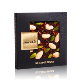Εικόνα της Σοκολάτα ChocoMe No Sugar Nuts & Chilli 50gr