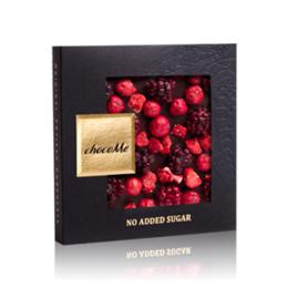 Εικόνα της Σοκολάτα Chocome No Sugar Fruits 50gr