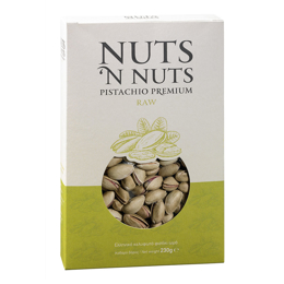 Εικόνα της Nuts N Nuts Ελληνικό Κελυφωτό Φιστίκι Ωμό 230gr