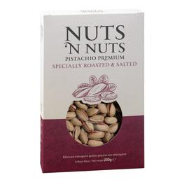 Εικόνα της Nuts N Nuts Ελληνικό Κελυφωτό Φιστίκι Ψημένο και Αλατισμένο 230gr
