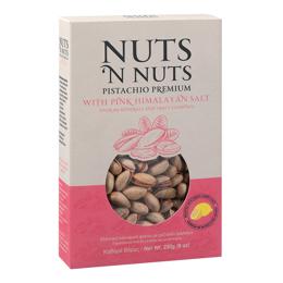 Εικόνα της Nuts N Nuts Ελληνικό Κελυφωτό Φιστίκι Με Ρόζ Αλάτι Ιμαλαΐων 230gr