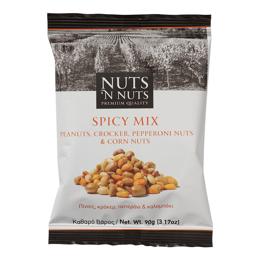 Εικόνα της Nuts n Nuts Πίνατς, Κρόκερ, Πεπερόνι και Καλαμπόκι 90gr