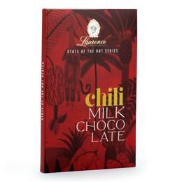 Εικόνα της Laurence State Of The Art Chili - Milk Chocolate 80gr