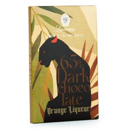 Εικόνα της Laurence State Of The Art 65% Dark Chocolate - Orange Liquer 80gr